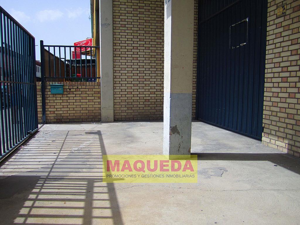 Patio - Nave industrial en alquiler en calle Navales, Centro-Casco Antiguo en Alcorcón - 301379217