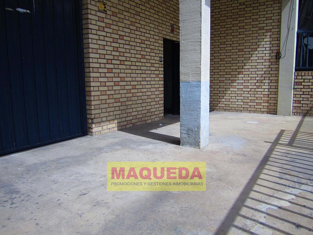 Patio - Nave industrial en alquiler en calle Navales, Centro-Casco Antiguo en Alcorcón - 301379218