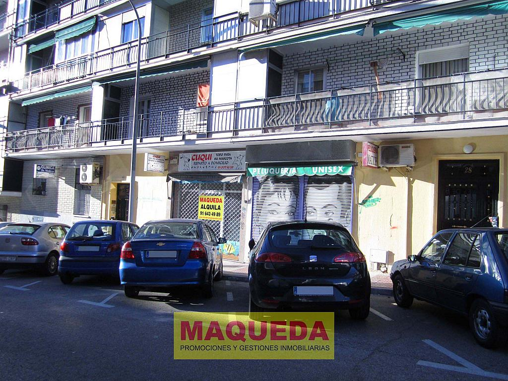 Fachada - Local comercial en alquiler en calle Virgen de Iciar, Centro-Casco Antiguo en Alcorcón - 183429402