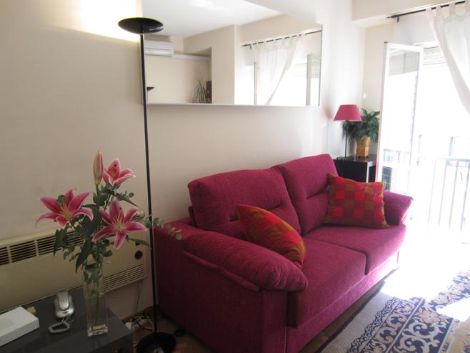 Salón - Apartamento en alquiler de temporada en calle De Las Fuentes, Centro en Madrid - 120673613