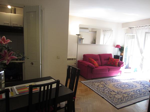 Salón - Apartamento en alquiler de temporada en calle De Las Fuentes, Centro en Madrid - 120673648