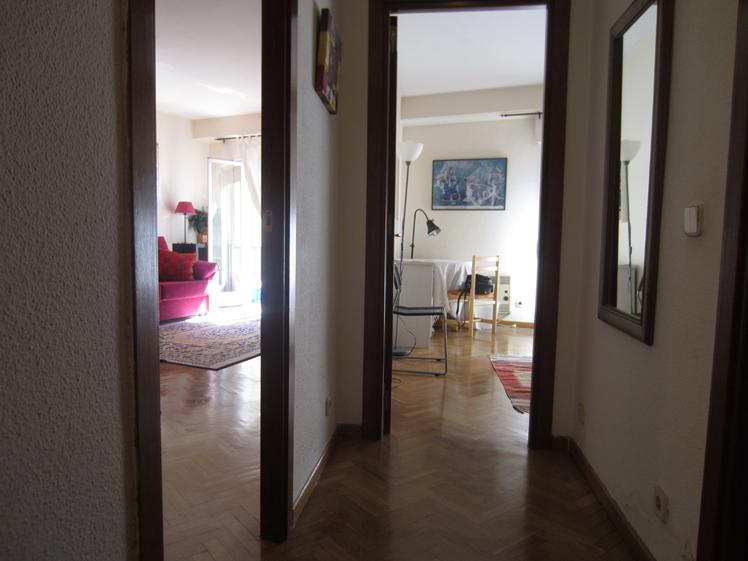Pasillo - Apartamento en alquiler de temporada en calle De Las Fuentes, Centro en Madrid - 120673652