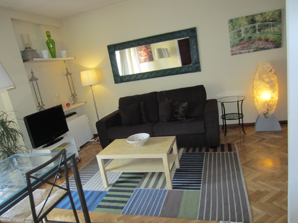 Salón - Apartamento en alquiler de temporada en calle Fuentes, Palacio en Madrid - 120675284
