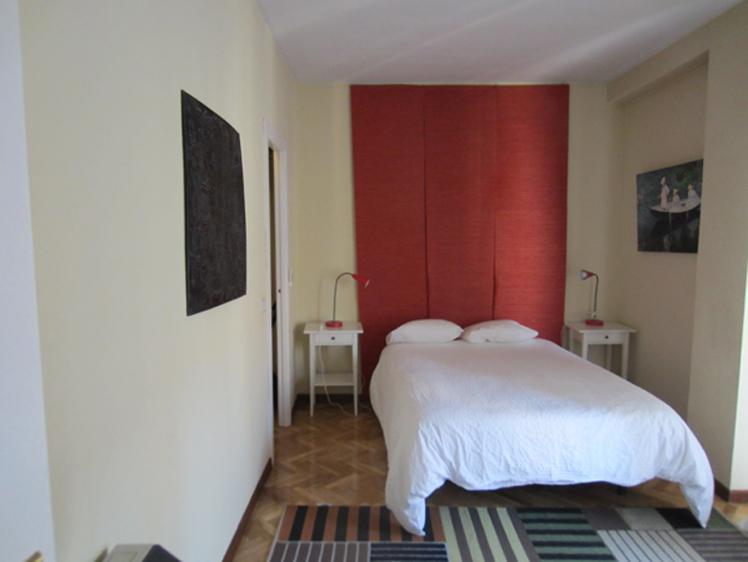 Dormitorio - Apartamento en alquiler de temporada en calle Fuentes, Palacio en Madrid - 120675290