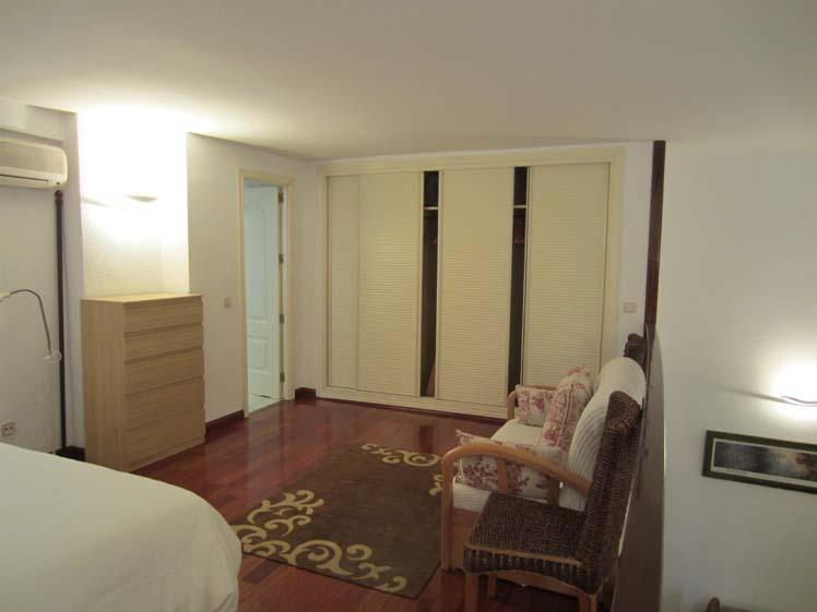 Dormitorio - Dúplex en alquiler de temporada en calle Carrera de San Francisco, Imperial en Madrid - 122567707