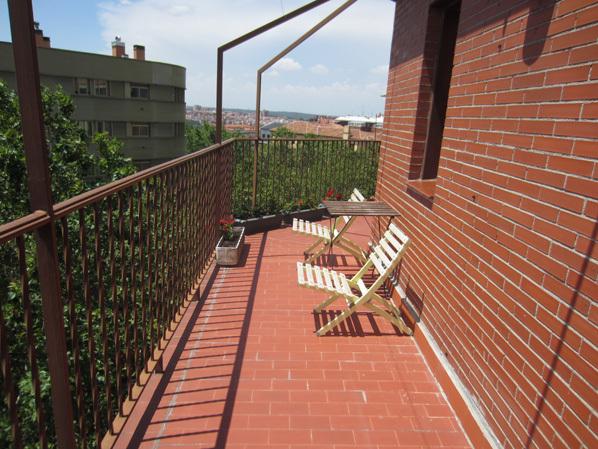 Ático en alquiler de temporada en calle Gran Via de San Francisco, Imperial en Madrid - 122567942