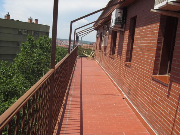Ático en alquiler de temporada en calle Gran Via de San Francisco, Imperial en Madrid - 122567943