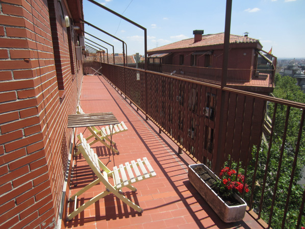 Ático en alquiler de temporada en calle Gran Via de San Francisco, Imperial en Madrid - 122567944