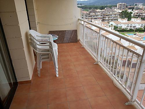 Terraza - Apartamento en venta en paseo Torre Valentina, Calonge - 283565658