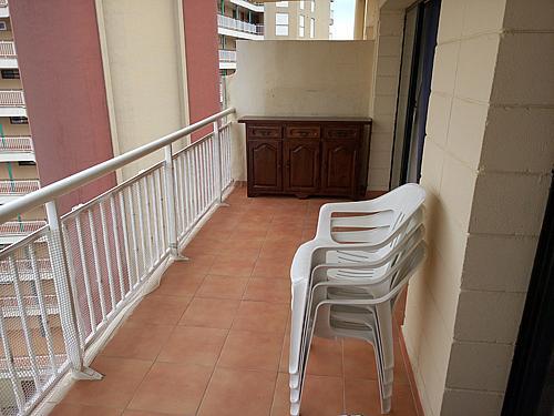 Terraza - Apartamento en venta en paseo Torre Valentina, Calonge - 283565661