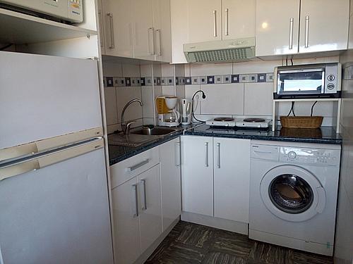 Cocina - Apartamento en venta en paseo Torre Valentina, Calonge - 283565714