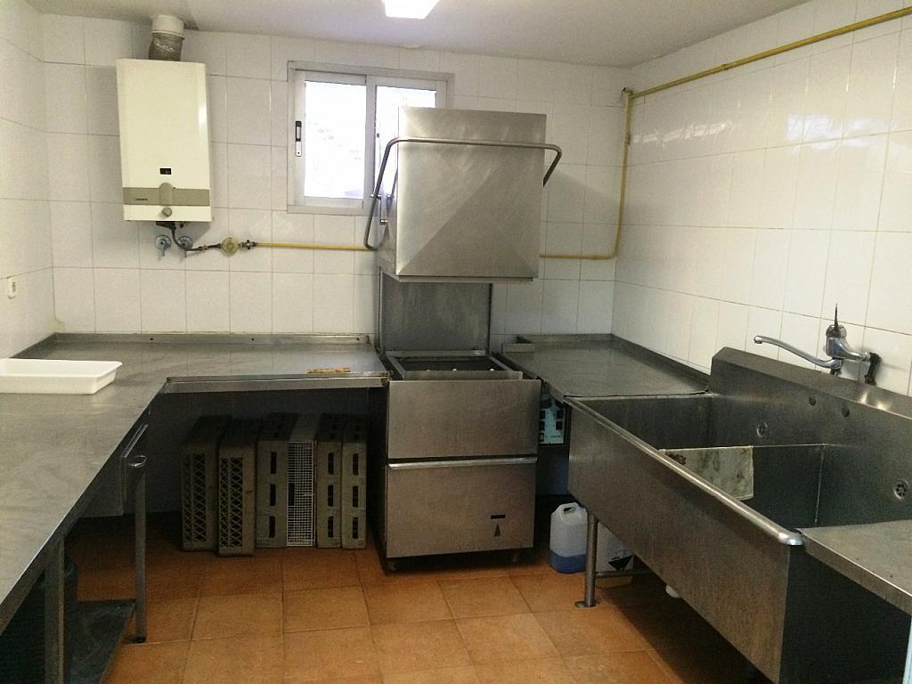 Cocina - Local comercial en alquiler opción compra en calle Blasco Ibañez, Buñol - 233371627