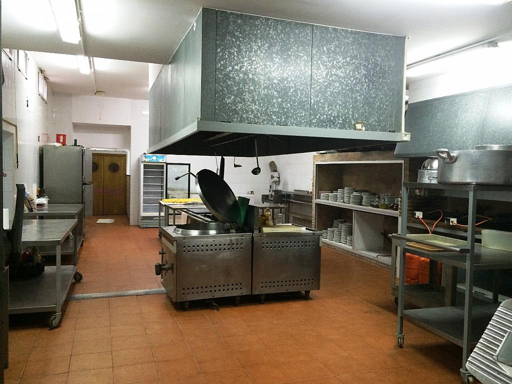 Cocina - Local comercial en alquiler opción compra en calle Blasco Ibañez, Buñol - 233371645