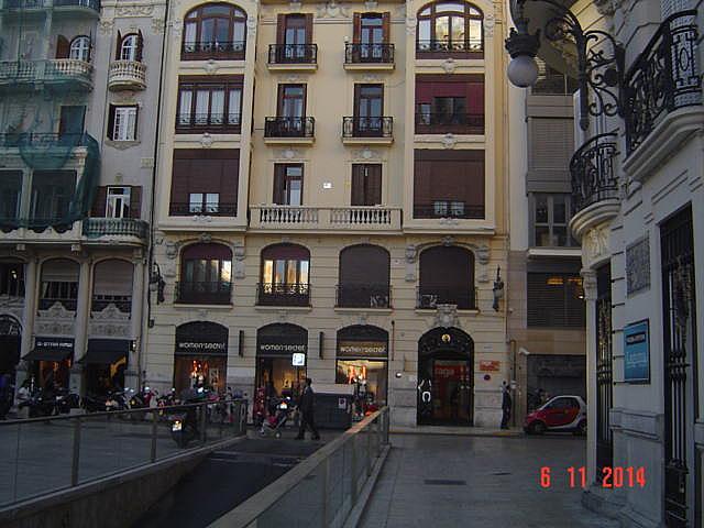 Fachada - Despacho en alquiler en calle Jorge Juan, L´Eixample en Valencia - 161025740