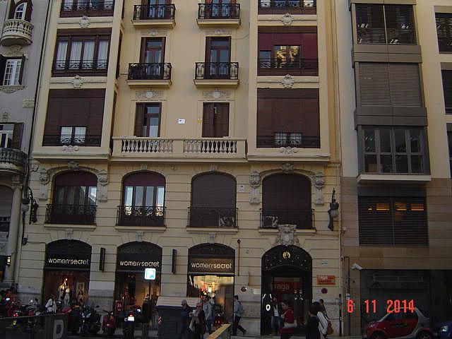 Fachada - Despacho en alquiler en calle Jorge Juan, L´Eixample en Valencia - 161025742