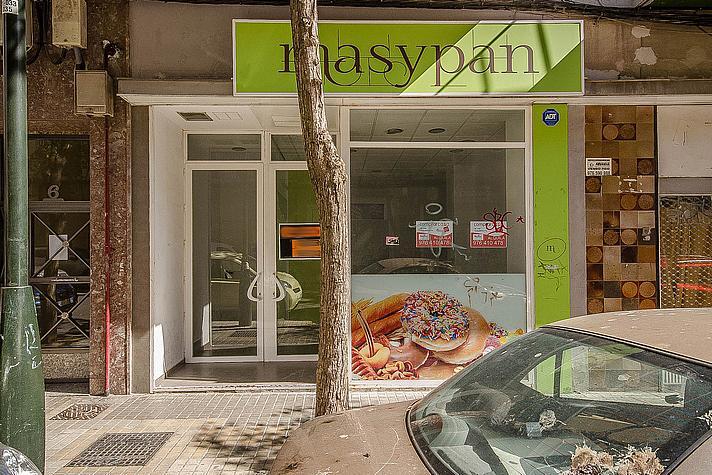 Fachada - Local comercial en alquiler en calle Sancho Arroyo, Las Fuentes – La Cartuja en Zaragoza - 254189563