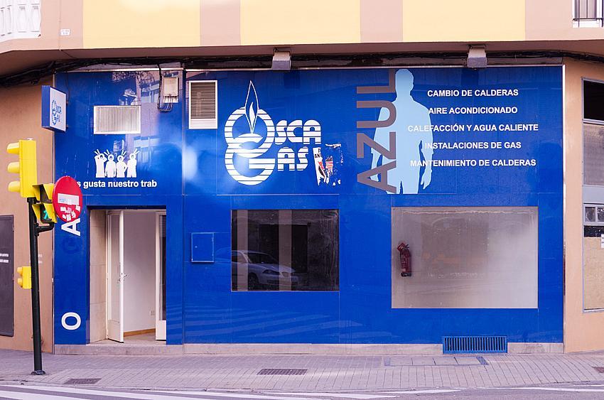 Fachada - Local comercial en alquiler en calle Rodrigo Rebolledo, Las Fuentes – La Cartuja en Zaragoza - 163945167