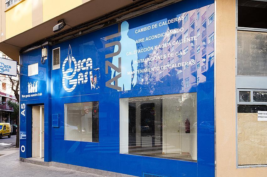 Fachada - Local comercial en alquiler en calle Rodrigo Rebolledo, Las Fuentes – La Cartuja en Zaragoza - 163945176