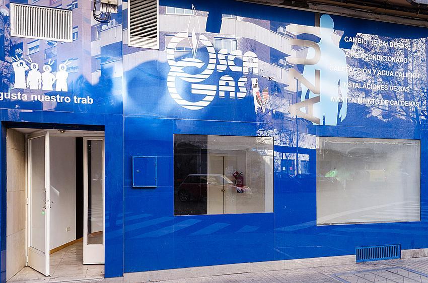 Fachada - Local comercial en alquiler en calle Rodrigo Rebolledo, Las Fuentes – La Cartuja en Zaragoza - 163945182