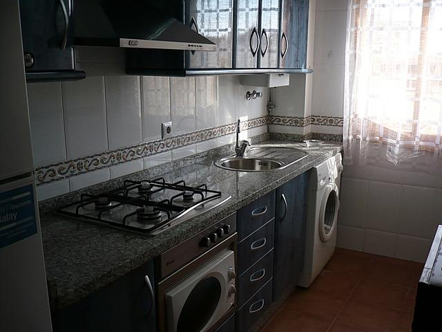 Cocina - Apartamento en alquiler de temporada en Torrox-Costa en Torrox - 195982729
