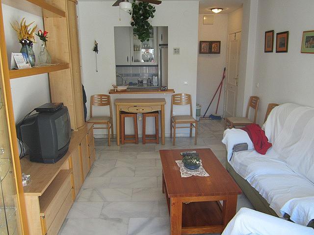 Salón - Apartamento en alquiler de temporada en Torrox - 144692541