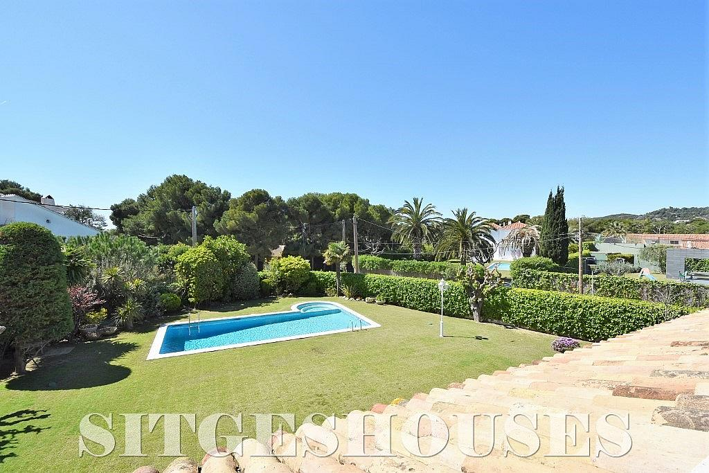 Vistas - Casa en alquiler en calle Josep Planas I Robert, Terramar en Sitges - 263611469