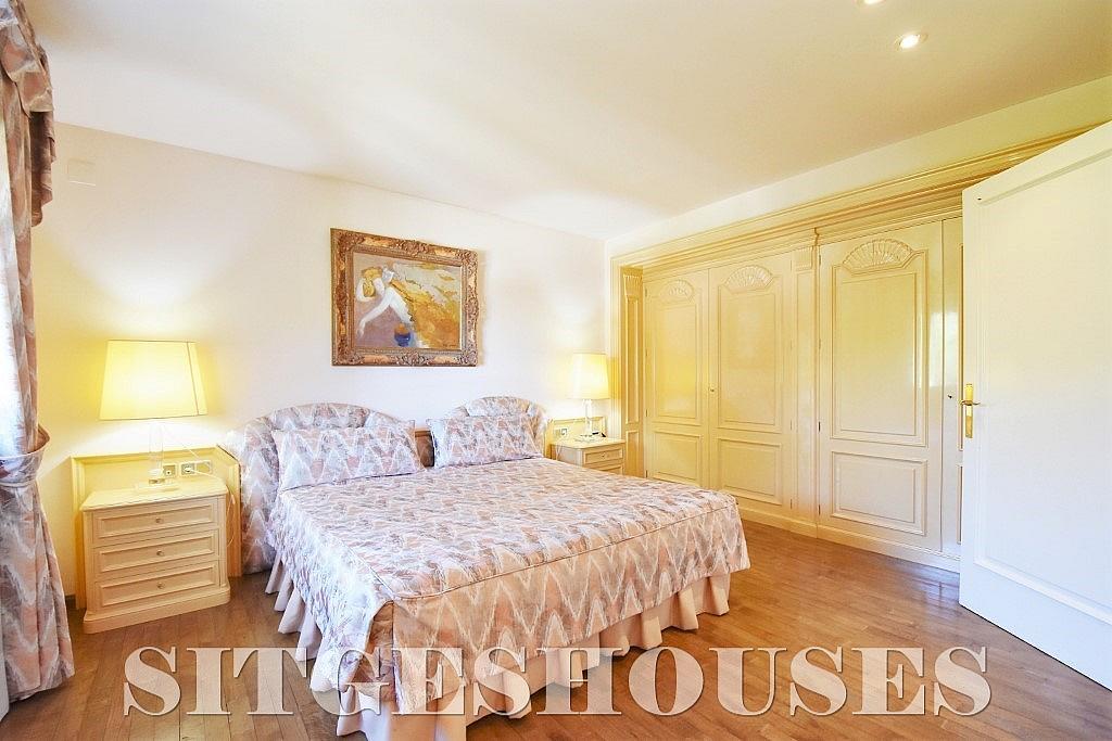 Dormitorio - Casa en alquiler en calle Josep Planas I Robert, Terramar en Sitges - 263611563