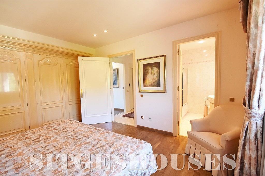 Dormitorio - Casa en alquiler en calle Josep Planas I Robert, Terramar en Sitges - 263611566