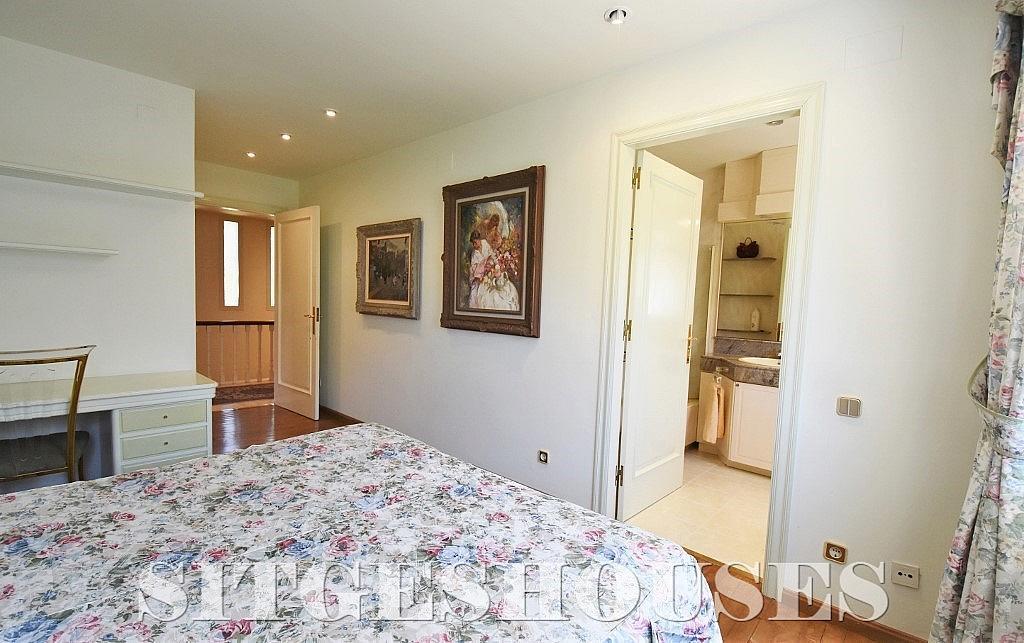 Dormitorio - Casa en alquiler en calle Josep Planas I Robert, Terramar en Sitges - 263611569