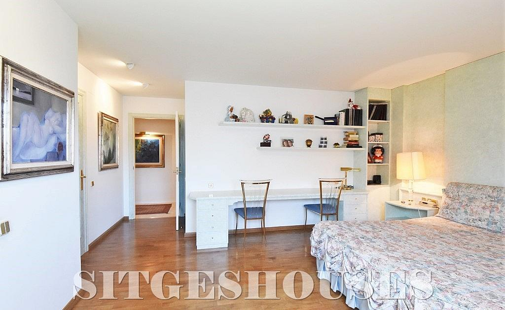 Dormitorio - Casa en alquiler en calle Josep Planas I Robert, Terramar en Sitges - 263611576