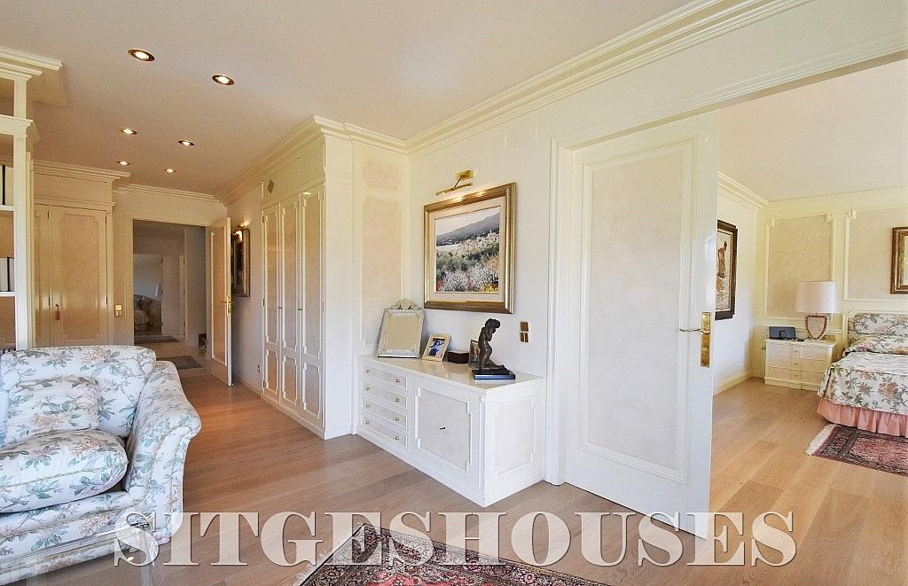 Dormitorio - Casa en alquiler en calle Josep Planas I Robert, Terramar en Sitges - 263611585