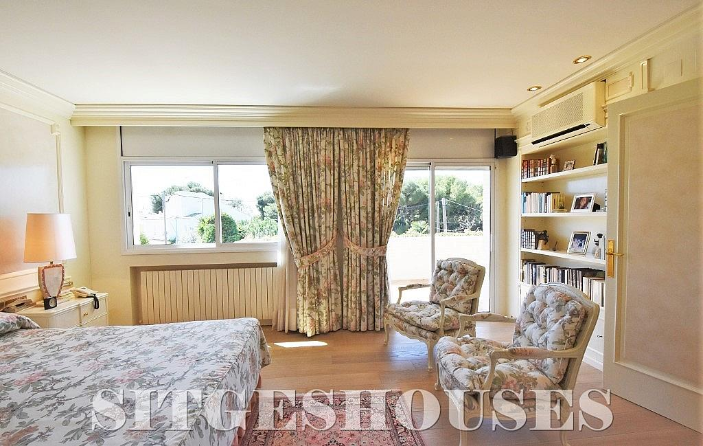 Dormitorio - Casa en alquiler en calle Josep Planas I Robert, Terramar en Sitges - 263611595