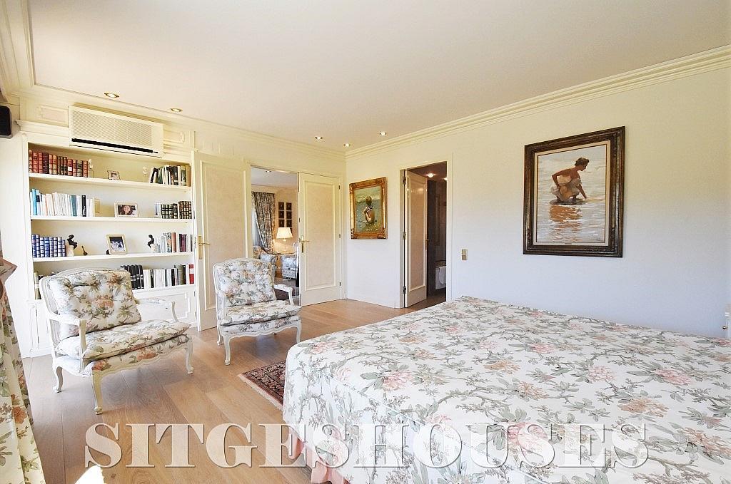 Dormitorio - Casa en alquiler en calle Josep Planas I Robert, Terramar en Sitges - 263611598