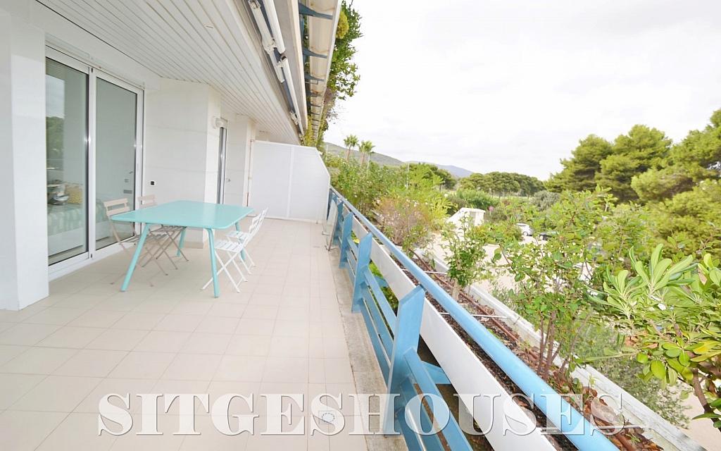 Terraza - Piso en alquiler en paseo Maritimo, Terramar en Sitges - 311815102