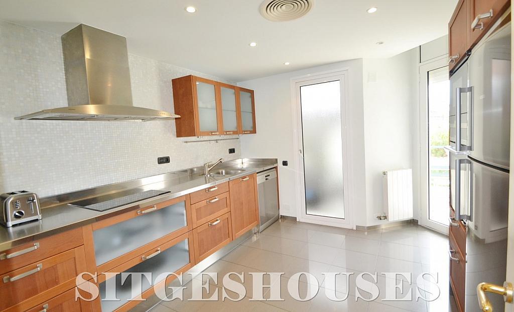 Cocina - Piso en alquiler en paseo Maritimo, Terramar en Sitges - 311815108