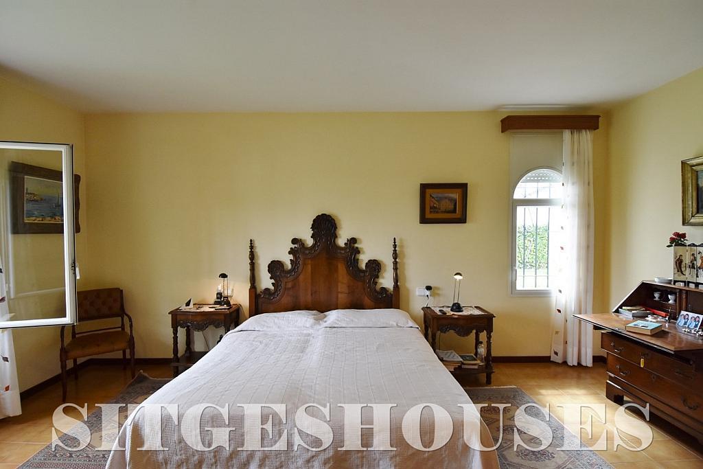 Dormitorio - Casa en alquiler en calle Avda Navarra, Terramar en Sitges - 322039610