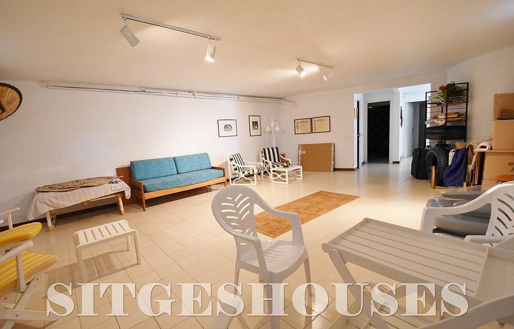 Sótano - Casa en alquiler en calle Avda Navarra, Terramar en Sitges - 322039630