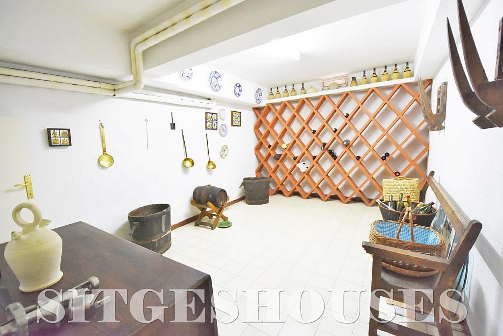 Sótano - Casa en alquiler en calle Avda Navarra, Terramar en Sitges - 322039647