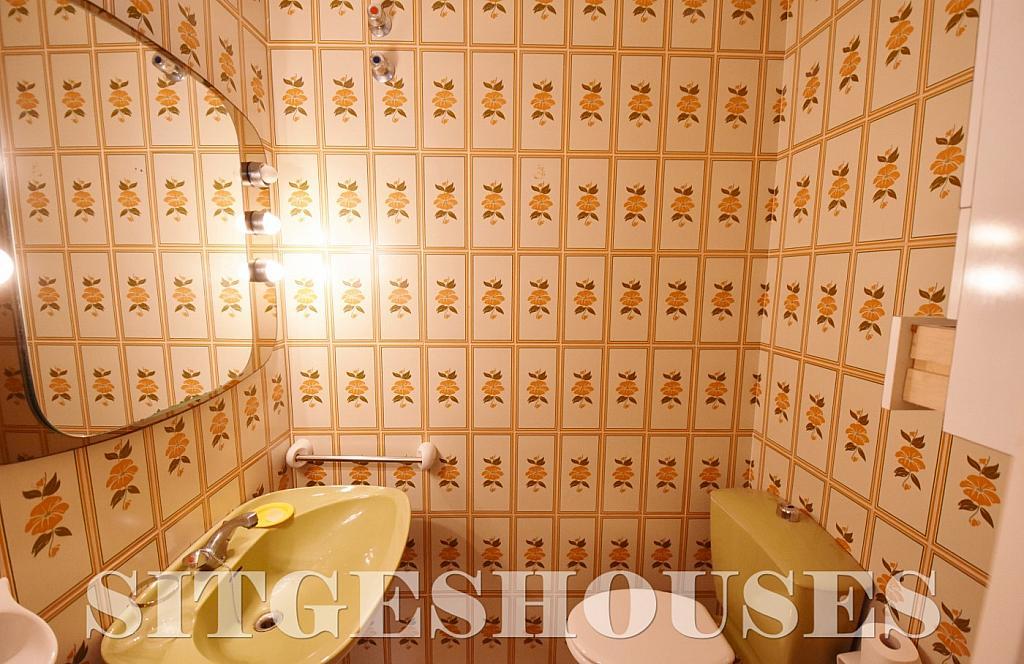 Aseo - Casa en alquiler en calle Avda Navarra, Terramar en Sitges - 322039648