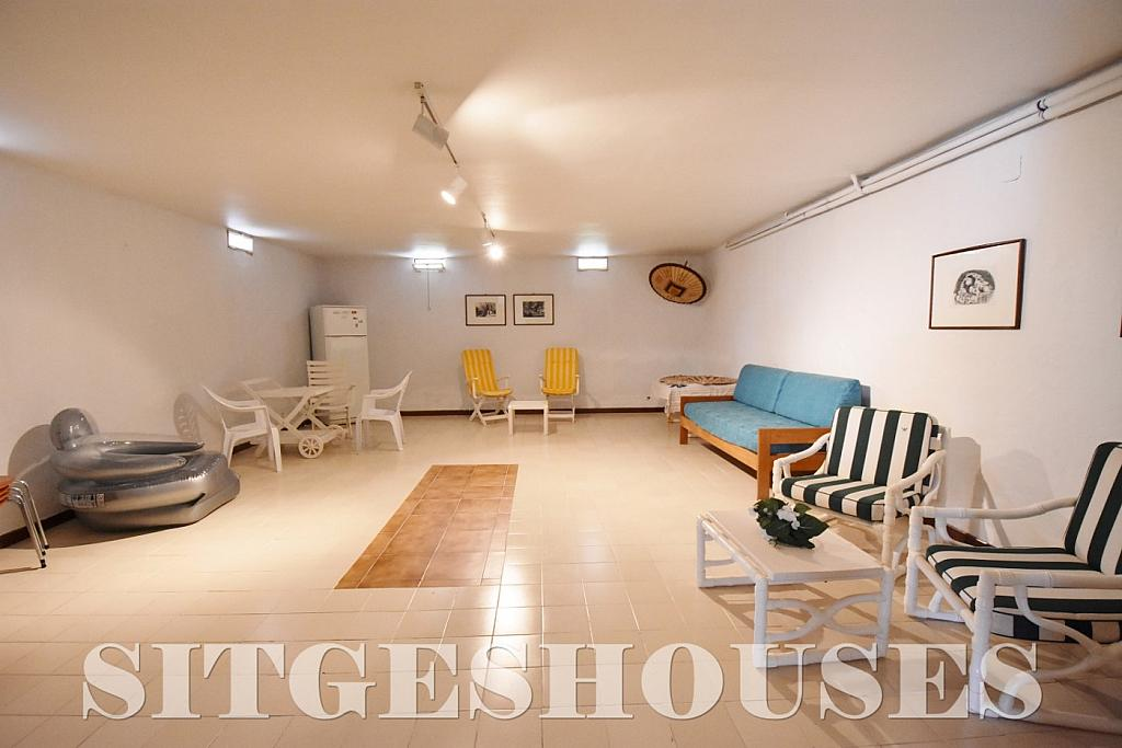 Sótano - Casa en alquiler en calle Avda Navarra, Terramar en Sitges - 322039650