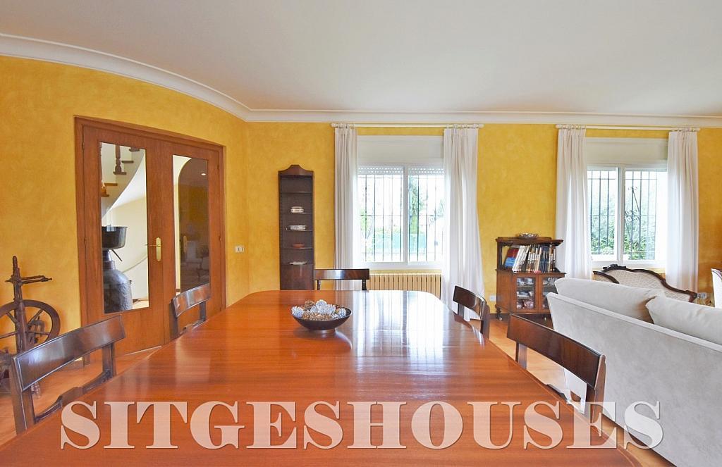 Comedor - Casa en venta en calle Avda Navarra, Terramar en Sitges - 322040472
