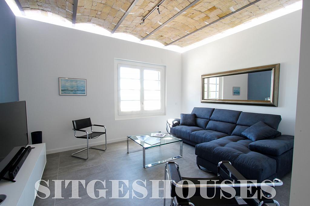 Salón - Piso en alquiler en calle Port Alegre, San Sebastian en Sitges - 325293726