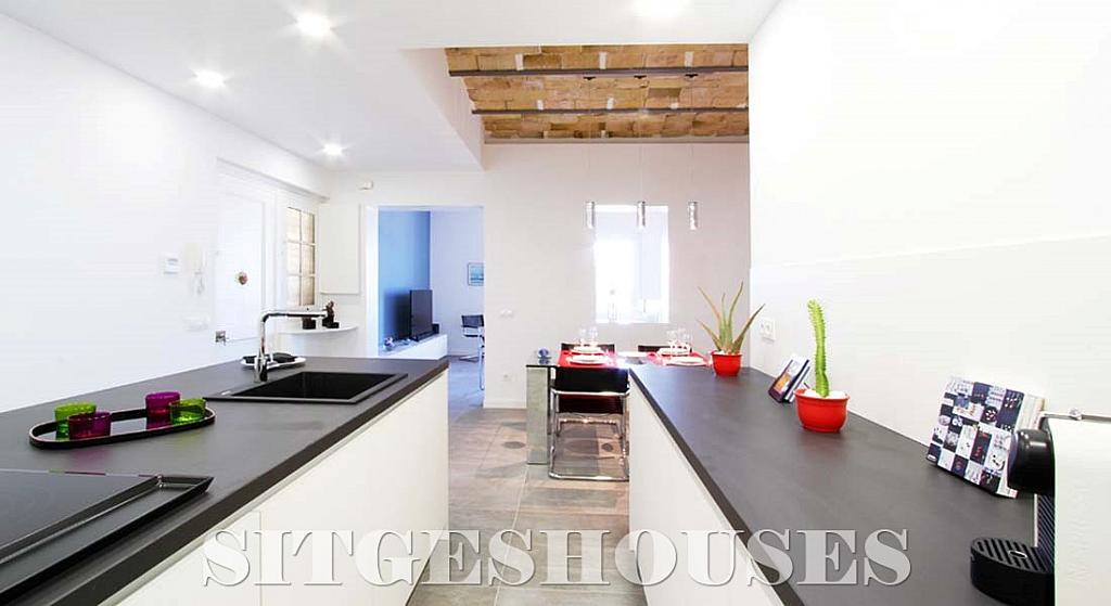 Cocina - Piso en alquiler en calle Port Alegre, San Sebastian en Sitges - 325293762