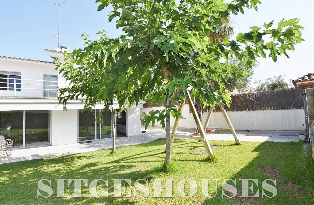 Jardín - Casa en alquiler en calle Manuel de Falla, Vallpineda en Sitges - 294490656