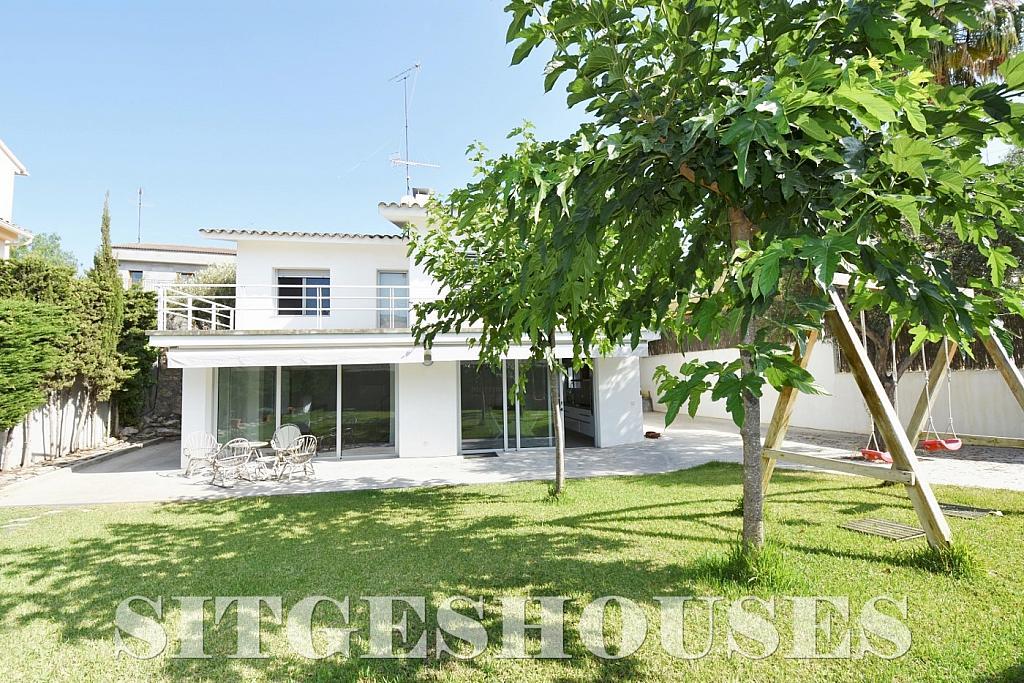 Jardín - Casa en alquiler en calle Manuel de Falla, Vallpineda en Sitges - 294490658