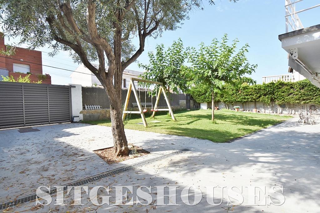Jardín - Casa en alquiler en calle Manuel de Falla, Vallpineda en Sitges - 294490661