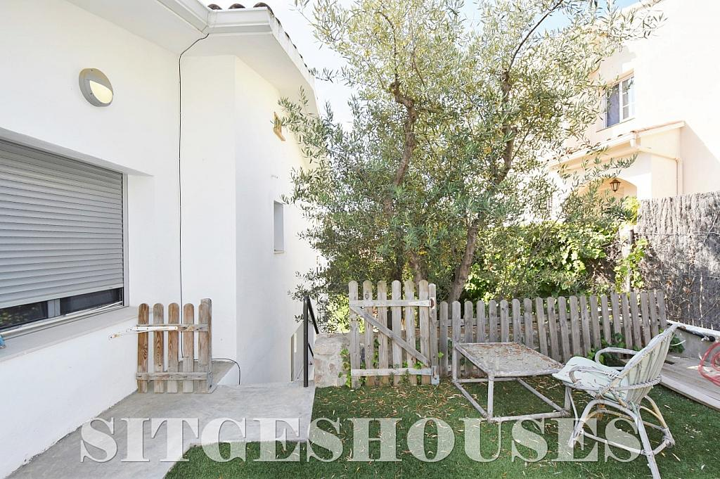 Jardín - Casa en alquiler en calle Manuel de Falla, Vallpineda en Sitges - 294490664