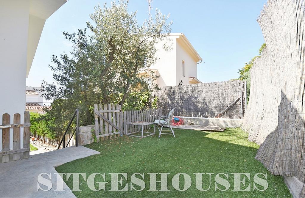 Jardín - Casa en alquiler en calle Manuel de Falla, Vallpineda en Sitges - 294490667