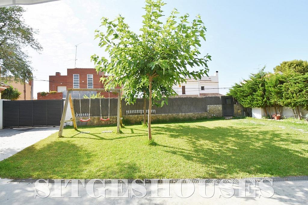 Jardín - Casa en alquiler en calle Manuel de Falla, Vallpineda en Sitges - 294490668