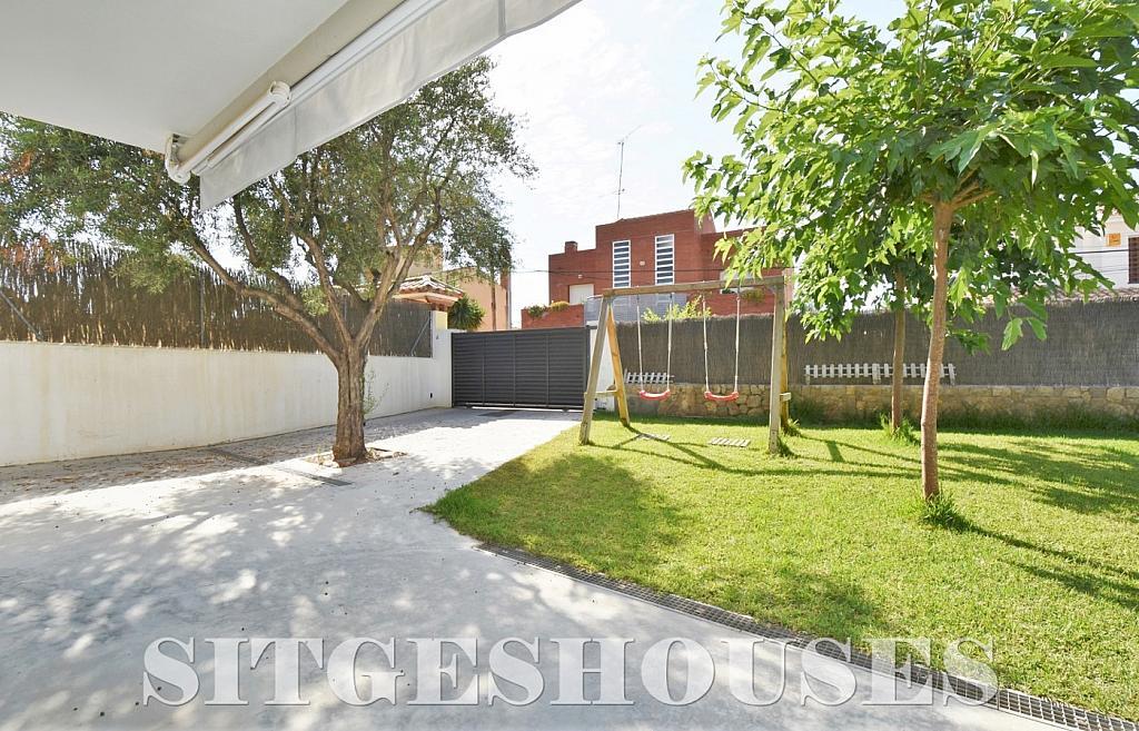 Jardín - Casa en alquiler en calle Manuel de Falla, Vallpineda en Sitges - 294490670